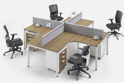 Four Person Desk
